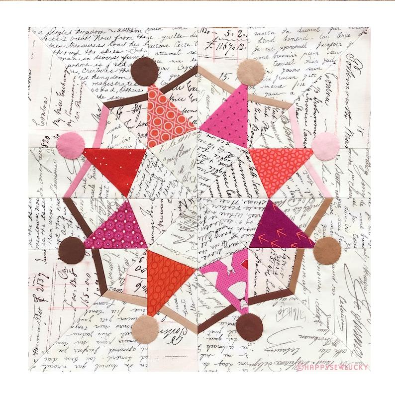 SISTERHOOD pdf quilt pattern image 0