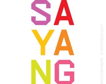 Malay LOVE block
