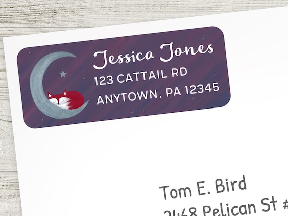 30 Custom Colorful Parrot Art Personalized Address Labels