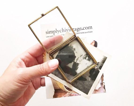 small glass display trinket jewelry box   Valentine's Day gift   ring holder