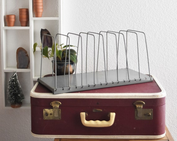 industrial metal wire paper file tray cabinet | adjustable lit ning wire organizer