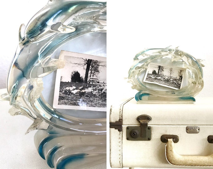 vintage dolphin picture frame