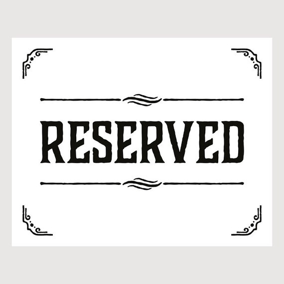 reserved for Mary / second payment