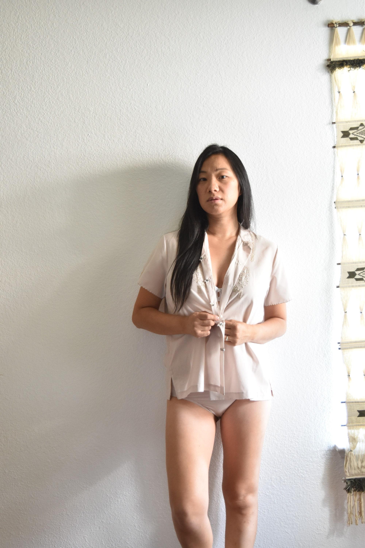 Vintage Nude Secretary