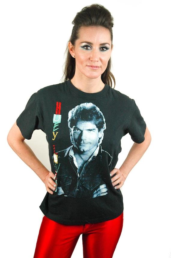 Vintage Huey Lewis shirt Concert shirt Band tee 1… - image 1