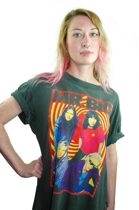 Vintage MR BIG Shirt 1980s Tee 80s Shirt Band Tee