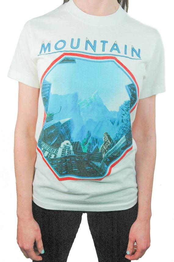 Vintage MOUNTAIN shirt 1985 Concert shirt Band tee