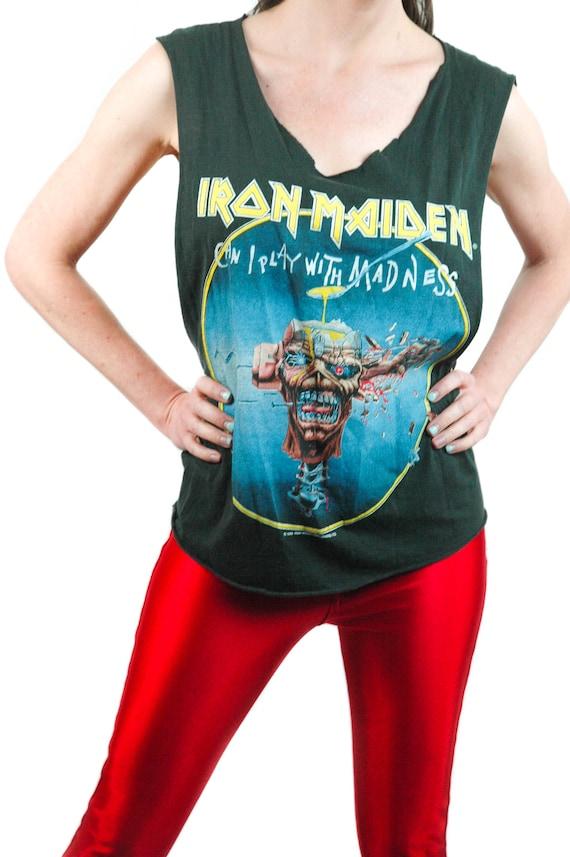 Vintage Iron Maiden shirt 1988 Concert shirt Band