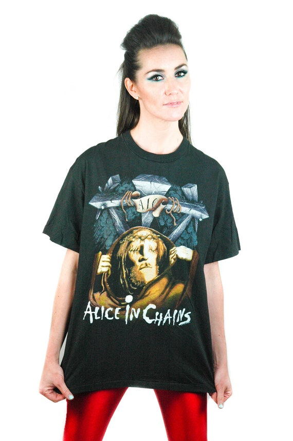 Vintage Alice in Chains shirt Bleed The Freak Conc