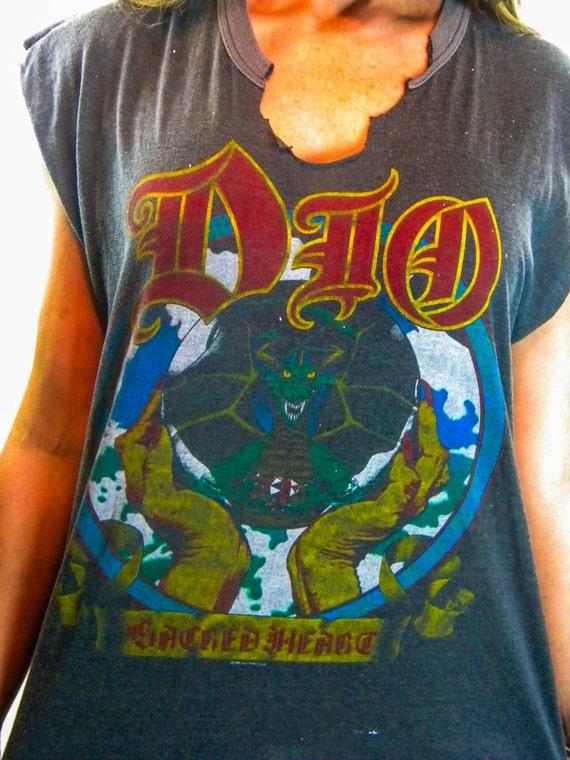 Vintage Dio shirt 80s Black Sabbath Iron Maiden Da