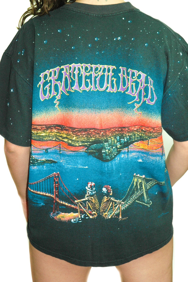 0d4651816 Vintage Grateful Dead Shirt Golden Gate Bridge San Francisco   Etsy