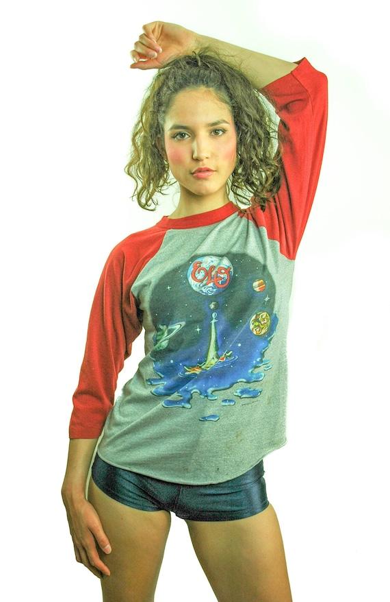Vintage ELO shirt 1981 Time Band Tee Concert shirt