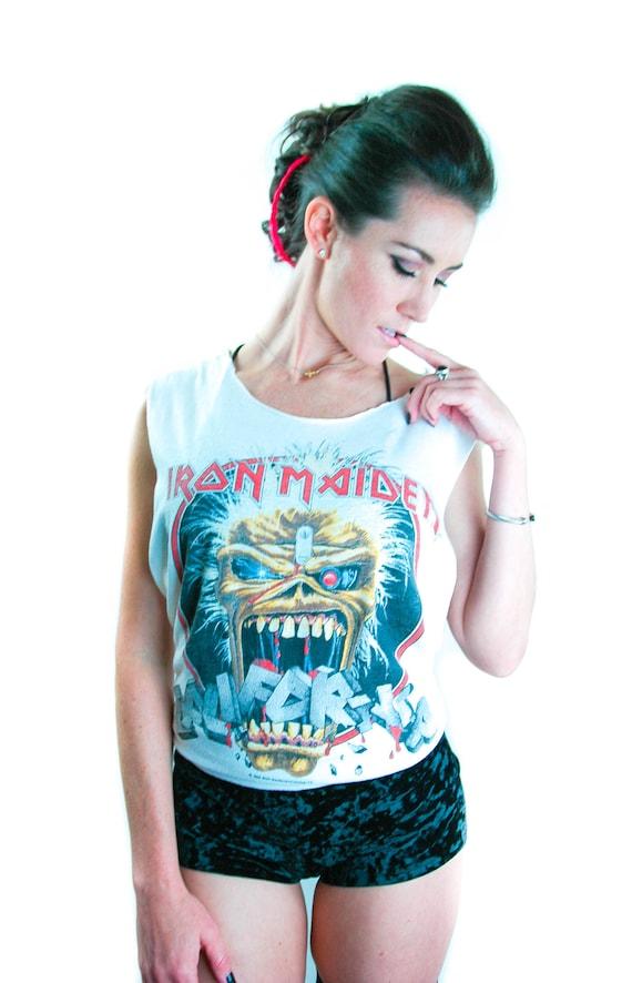 Vintage Iron Maiden Shirt 1988 California Seventh