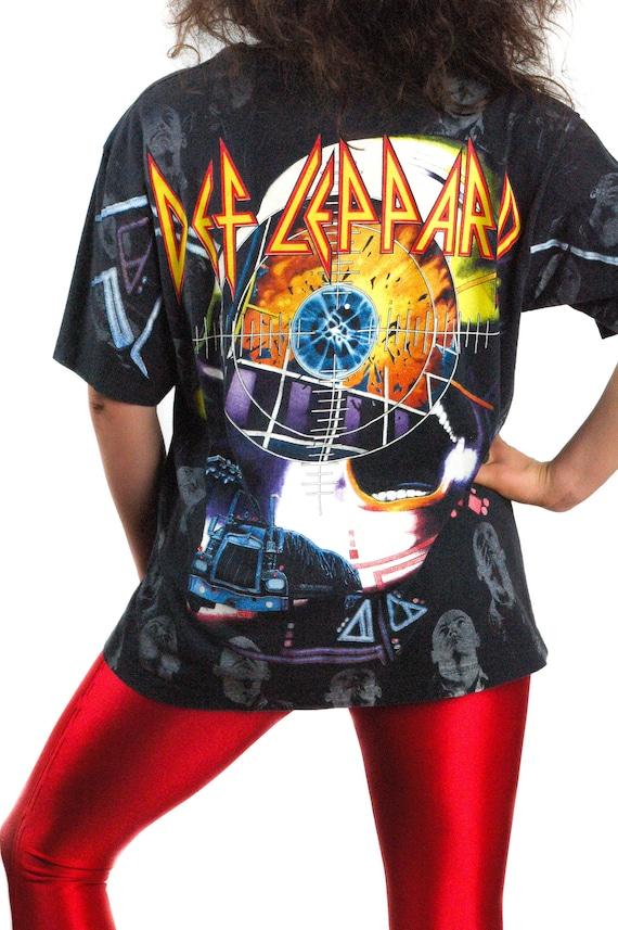 Vintage Def Leppard shirt All Over Print Def Leppa