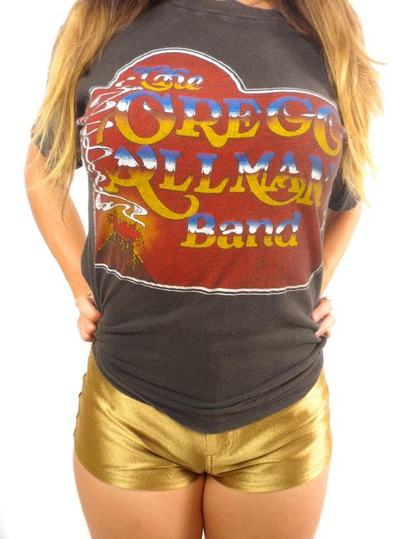 Vintage The Gregg Allman Band Tee 70s Allman Broth