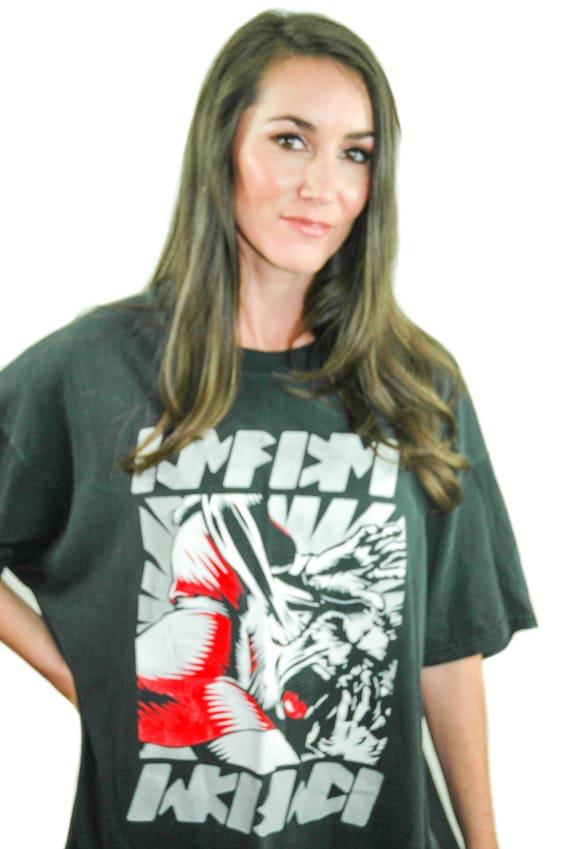 Vintage KMFDM Shirt Concert shirt Band tee NIN Tee