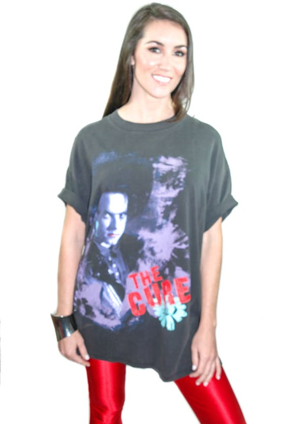Vintage THE CURE Shirt 1989 Disintegration Concert