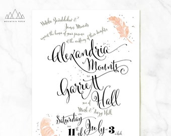 Flutter Wedding Invitations