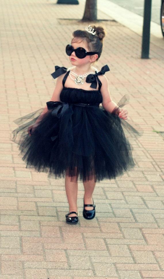 Halloween Costume Halloween Tutu Dress Audrey Hepburn Etsy