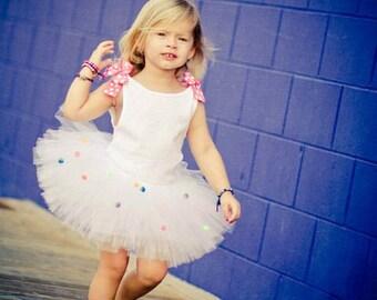 Confetti Tutu | Confetti Party Tutu | Polka Dot Tutu | Funfetti Tutu | Sprinkle Birthday Tutu | Birthday Confetti Tutu | Confetti Birthday