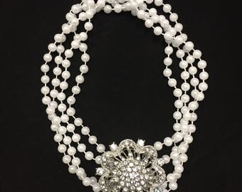 Atutudes Breakfast At Tiffany's inspired Necklace Halloween costume