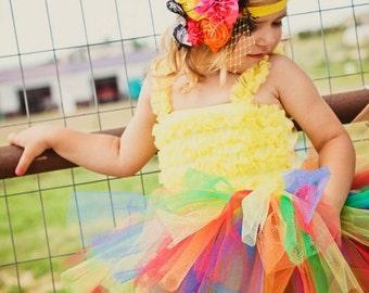 Girls 1st Birthday Tutus Rainbow Tutus for Children