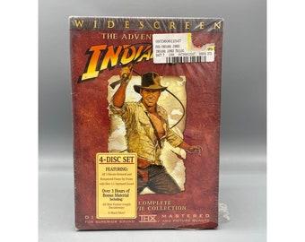Indiana Jones, Indiana Jones - The Adventure Collection (DVD, 2003, 4-Disc Set, Widescreen)