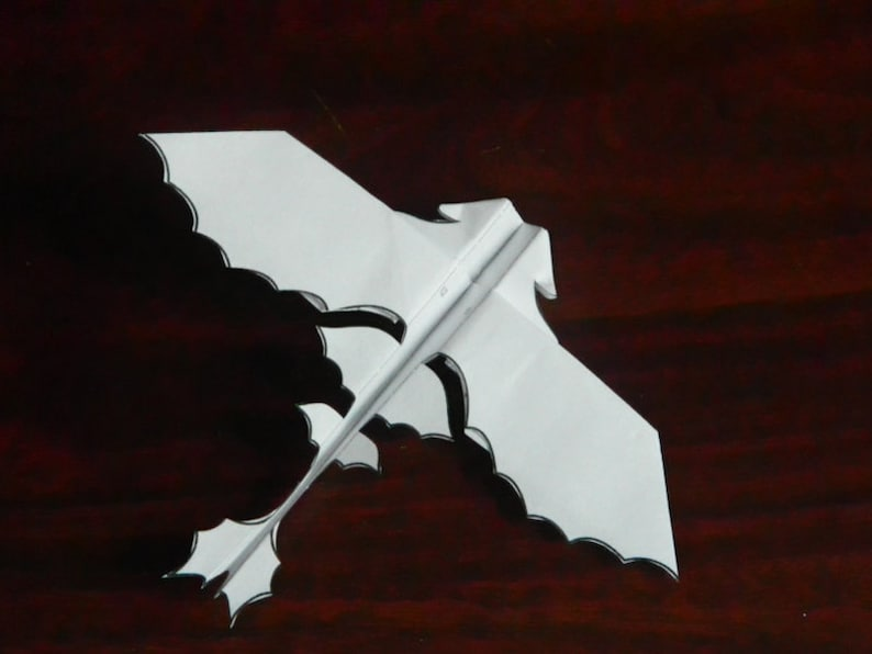 Flying Paper Dragon  Download and Print the Pattern image 0