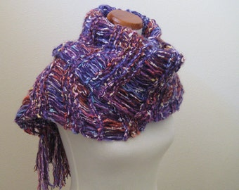 Mixed Purple Shawl / Scarf