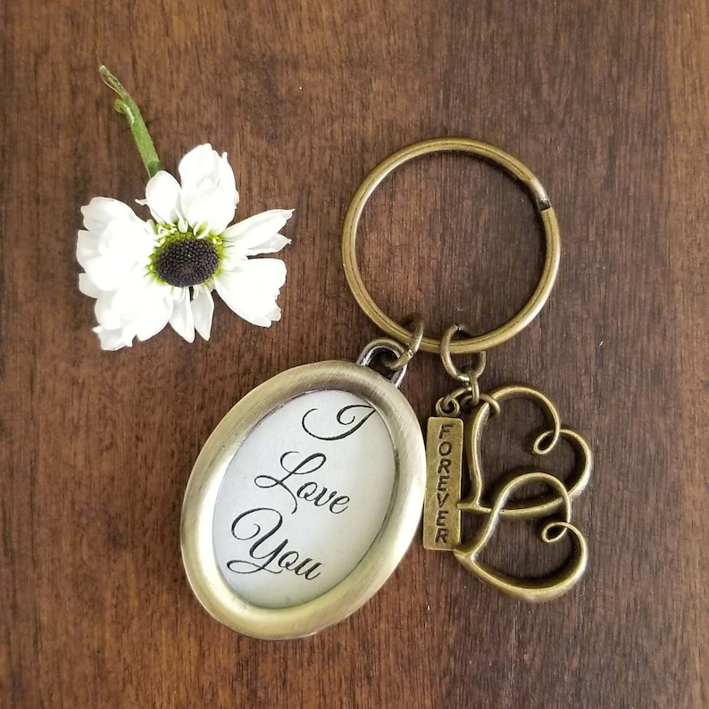 Personalized Keepsake Keychain image 0