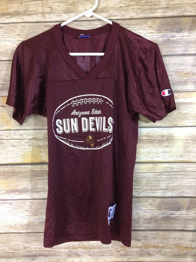 online store 3eb78 0cce9 Vintage Champion Arizona State Sun Devils Pat Tillman #42 Kids Mesh  Football Jersey