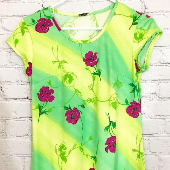 Liberty House of Hawaii Floral Long Maxi Dress