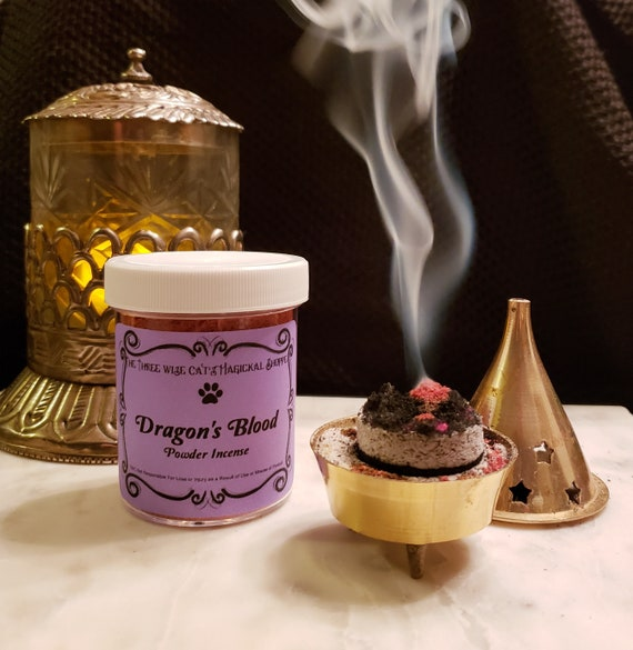 Dragon's Blood Incense Powder - Add Power To Your Spells & Rituals