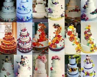 First Cake Wedding Cake Ornament, Wedding Cake Replica, anniversary Gift, Newlywed, wedding cake replica, husband and wife keepsake