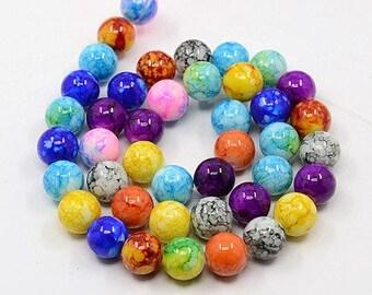 Glass beads bulk etsy