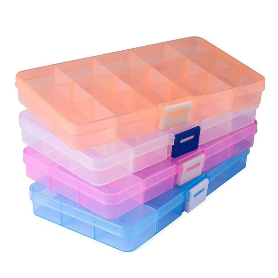 Jewelry Storage Boxes Jewelry Supply Storage Containers Etsy