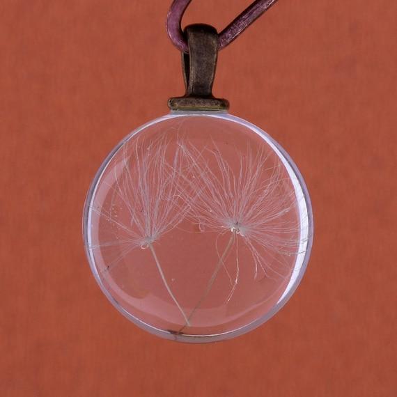 10 Thistle charms antique copper tone CC44