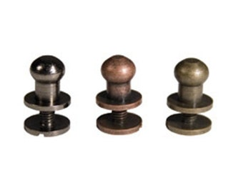 Hitch Fasteners Tim Holtz Ideaology Leather Working Scrapbook Hardware Book Making Screw Fasteners