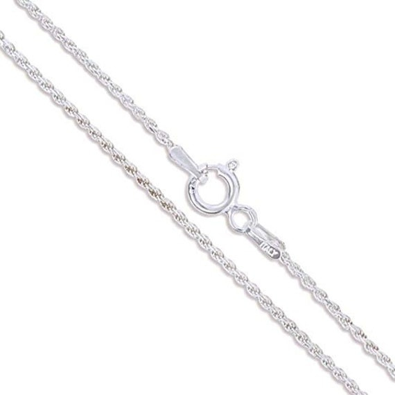 """8Pcs//Set with Mix 8 Styles 16/""""-30"""" Solid 925 Sterling Silver Necklace Set Chains"""