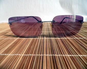 Fashion Sunglasses, gradient Magenta Lens, lightweight