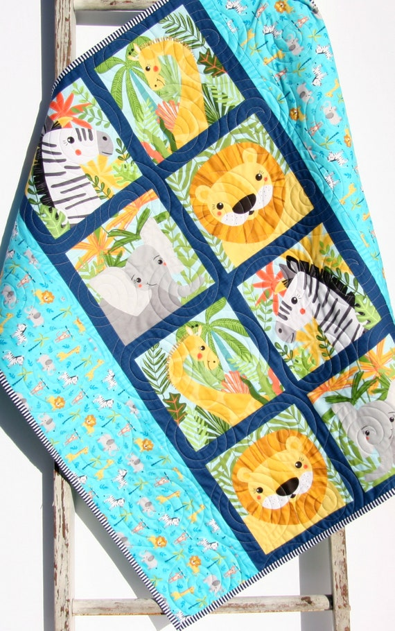 NEW Multi Color,Unisex BABY SOCCER  BEAR QUILT AND PILLOW  NURSERY SET
