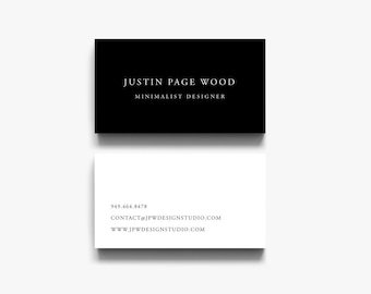 Modern business card etsy calling cards business card design modern business card business card templates black and white business cards classic business cards colourmoves