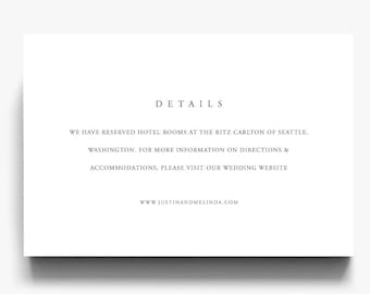 info card template etsy
