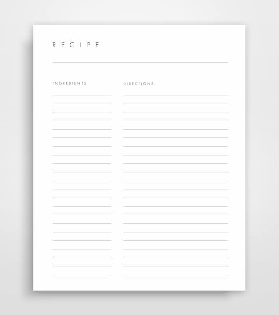 recipe pages recipe binder pages printable recipes recipe