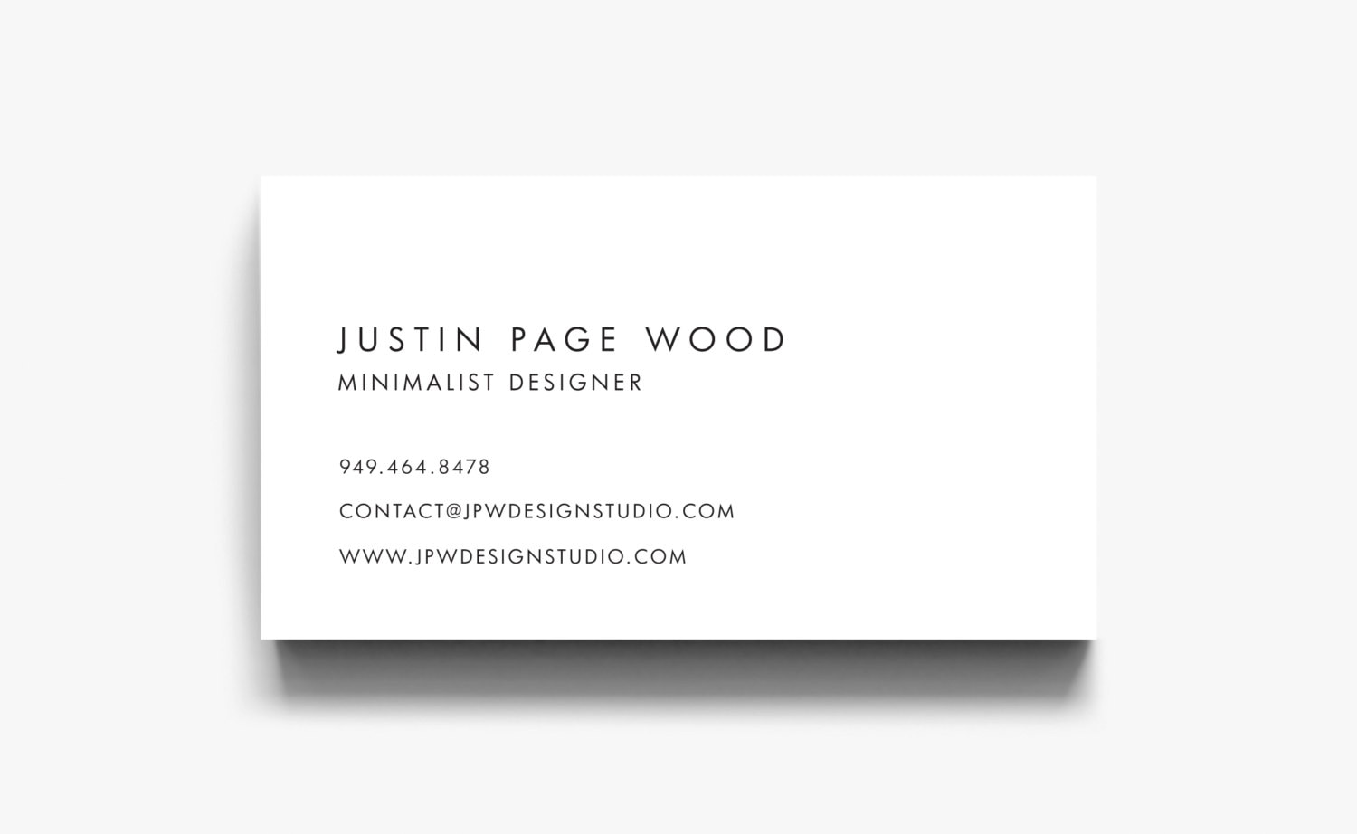 Business Card Design Business Card Template Calling Cards | Etsy