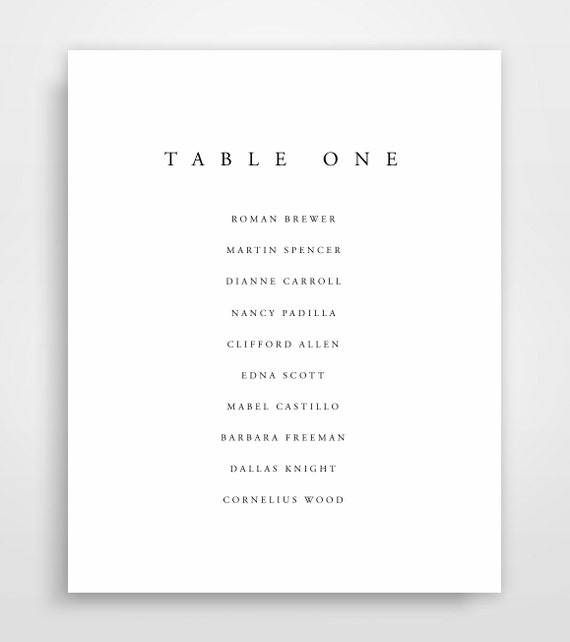 seat chart template seating chart wedding printable seating etsy