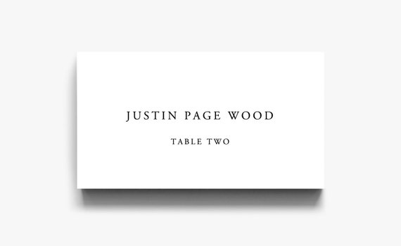 table place cards printable wedding name cards printable etsy