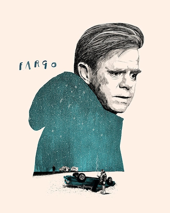 Arte Fargo film dei Fratelli Coen POSTER FILM a4 a3 arte stampa cinema