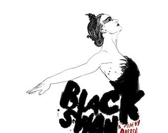 Black Swan Film Poster