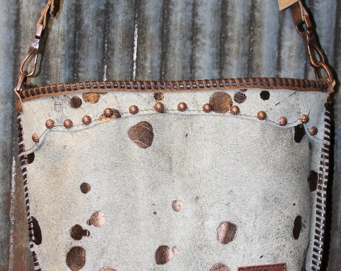 The Appaloosa Cowhide Purse